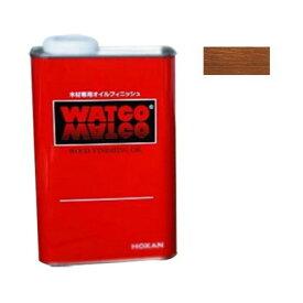 ワトコ社 ワトコオイル浸透性木材用塗料 ダークウォルナット 3.6L W-13
