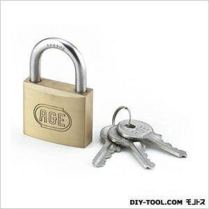 ノーブランド ステンレス弦Wロックシリンダー南京錠鍵番指定同一 40mm同一鍵 G025