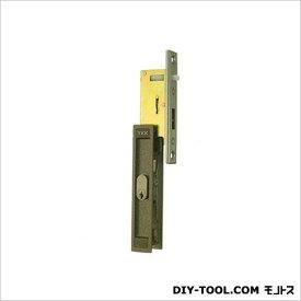 引違錠前戸先/内外カマ締りスライド式操作YKK 142×25mm(125×20) KH-23B