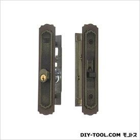 引違錠前召合せ/内外カマ締りスライド式操作YKKアルコック 136×25.5mm KH-54