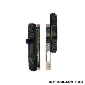 引違錠前召合せ/内外カマ締りスライド式操作トステム 134×28mm(外) 160×25mm(内) KH-119