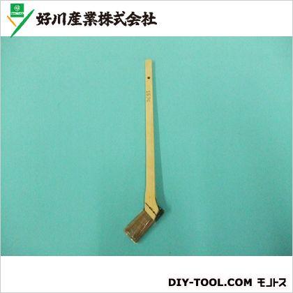 好川産業 赤毛 竹ペン刷毛 15mm (650641) ハケ 筆