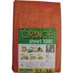 ユタカメイク #3000オレンジシート 2.7m×3.6m OS05 1 個