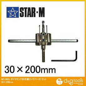 starm/スターエム ダイヤモンド自在錐ロングバー付セット 30×200mm 36DL