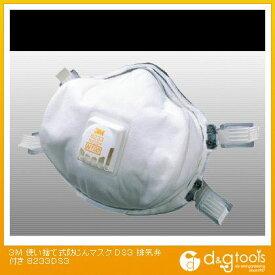 3M(スリーエム) 使い捨て式防じんマスク DS3 排気弁付き 8233-DS3
