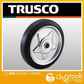 TRUSCO ゴム車輪Φ200 TW-200