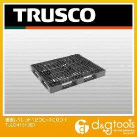トラスコ(TRUSCO) 樹脂パレット片面4方差1200X1000 1200 x 1000 x 120 mm TJL-D4-1210E