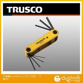 トラスコ 六角棒レンチセット(ナイフ式) TNR7S 7 本