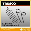 トラスコ(TRUSCO) ナイロン結束バンド耐候性タイプ幅3.6mm長さ203mm100本 228 x 149 x 24 mm TRJ200SB 100本