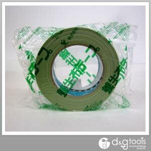 寺岡製作所 塗装養生用マスキング布テープ 若葉 38mm×25m No.148A