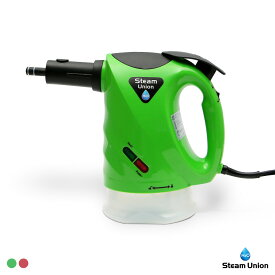H2Oスチームユニオン グリーン/レッド【 h2o スチームクリーナー キッチン 台所 高圧 洗浄 掃除 油 汚れ 水 】 【tv-ya_dl】