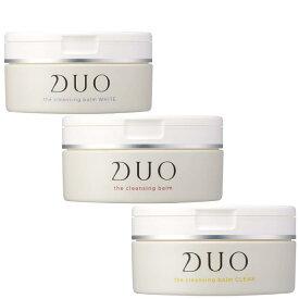 DUO プレミアアンチエイジング デュオ ザ クレンジングバームシリーズ 90g クリア バーム ホワイト
