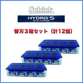 シック Schick 5枚刃 ハイドロ5 替刃12枚 簡易包装