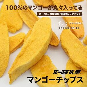 【台湾直送】 フリーズドライ ドライフルーツ ドライマンゴー チップス お菓子 完全無添加 【20g】