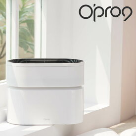 空気清浄機 空気清浄器 フィルター不要 抗菌 脱臭 ウイルス PM2.5 静音 節電 マイナスイオン放出 高性能 スマート【Opro9】