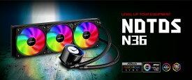 【20倍ポイントバック】Digifast AIO Notos Liquid CPU Cooler N36 Sync AMD Intel 水冷システム CPU水冷クーラー 水冷キット 冷却能力 互換性 ARGB【台湾直送】