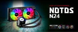 【20倍ポイントバック】Digifast AIO Notos Liquid CPU Cooler N24 Sync AMD Intel 水冷システム CPU水冷クーラー 水冷キット 冷却能力 互換性 ARGB【台湾直送】