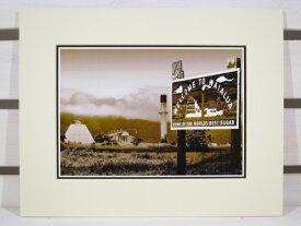 【激安・ポッキリセール】【HAWAII】フォトグラフ アート・サイズL・Sugar Mill at Waialua・セピア 【ハワイ雑貨】【インテリア】【返品交換不可】