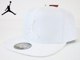 NIKE JORDAN ナイキ ジョーダン【キャップ】【帽子】【海外限定】【即日発送】JORDAN JUMPMAN SNAPBACK CAPWhite/White