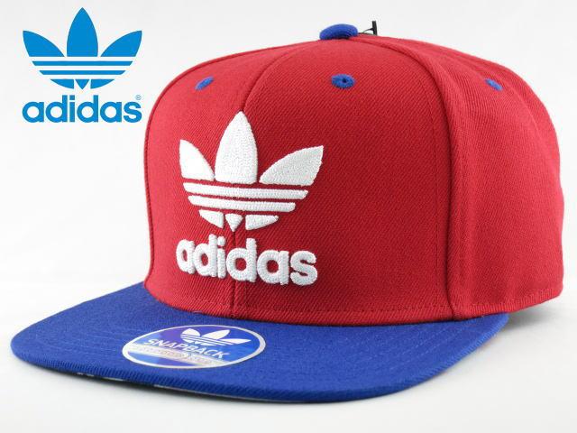 adidas Originals アディダス オリジナルス【キャップ】【帽子】【海外限定】【即日発送】Adi Orig THRASHER SUBLLIMATEDSNAPBACK CAPTREFOIL・RED/BLUE/WHITE