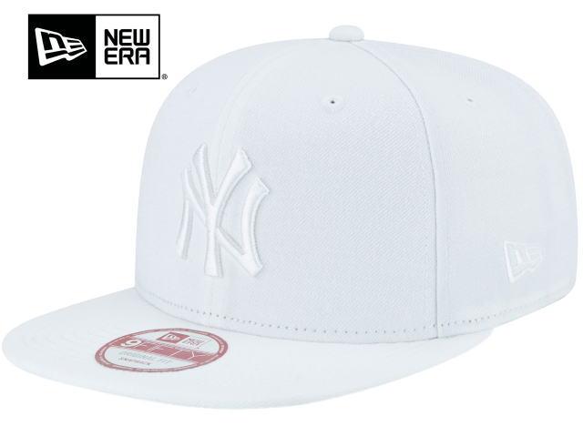 【激安・ポッキリセール】NEW ERA ニューエラ【キャップ】【帽子】【海外限定】【即日発送】NEW ERA MLB 9FIFTY SNAPBACKNew York Yankees・White【返品交換不可】