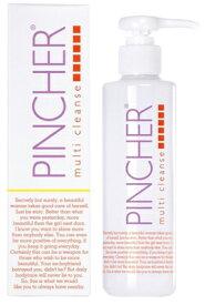 PINCHER multi cleanse 200ml ピンシャー マルチクレンズ メイク落とし クレンジング 洗顔 肌荒れ ニキビ アトピー 肌改善 マツエクOK 《送料無料》