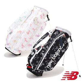 【4,300円割引クーポン対象】ライトウェイト スタンドキャディバッグ ニューバランス NEW BALANCE ゴルフ ゴルフバッグ 1980501