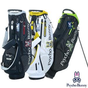 【ネームプレート刻印無料】 スタンドキャディバッグ ゴルフバッグ サイコバニー PBMG1SCB DOT NEON GOLF STAND ゴルフ用品 メンズ レディース