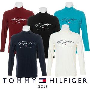 【月間優良ショップ受賞】ハイネック 長袖シャツ トミーヒルフィガー THMA178 メンズ ゴルフウェア