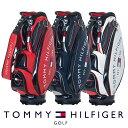 【ネームプレート刻印無料】キャディバッグ ゴルフバッグ トミーヒルフィガー THMG1SC3 ROUND LOGO CADDIE BAG ゴルフ…