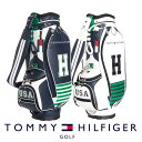 キャディバッグ トミー ヒルフィガー THMG8SC2 ゴルフ用品