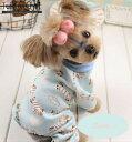 【犬服・ドッグウェア・秋・冬・シンプル・暖かい・プチプラ・犬用オーバーオール】あったかふわふわベビーオーバーオ…