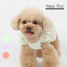 犬 犬服 ドッグウェア 夏 春 夏服 春服 可愛い おしゃれ プチプラ 犬用ワンピース ドレス スカート チェックリボンワンピ