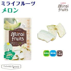 ミライフルーツ メロン テクセルジャパン フリーズドライ フルーツ