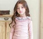 韓国子供服長袖トップス綿100%韓国女の子子ども服春秋冬100cm110cm120cm130cm140cmキッズ用