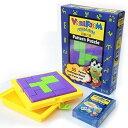 知育玩具 3歳以上 Pattern Puzzle 立体パズル 幾何学ブロックで図形あそび 55種類の作品説明カード付き