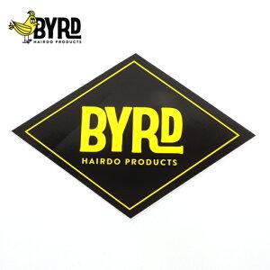 【BYRD バード】HAIRDO ステッカー ロゴ ダイアモンド カリフォルニア・ニューポートビーチ発メール便対応!