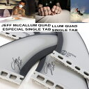 CAPTAIN FIN キャプテンフィン FUTURE フィンJEFF McCALLUM QUAD ESPECIAL SINGLE TAB 5.17 BLACK...