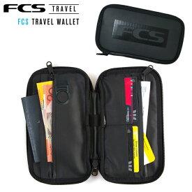 【FCS】エフシーエスTRAVEL WALLET トラベルウォレット 財布/パスポート/カード/旅行 /サーフトリップ/サーフィンあす楽!