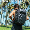 FCS BACKPACKS エフシーエス バックパック DAY & TRAVEL SERIES MISSION TRAVEL PACK 40L BLACK リュック 旅行 サーフ…