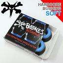 スケボー スケートボードBONES BUSHING ボーンズ ブッシュ HARDCORE BUSHNGSSOFT ソフト ブラックメール便送料無料!