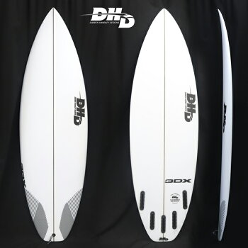"【DHDSURFBOARDS】DHDサーフボード3DX5'8""28CL2018NewModel!FUTURE5FIN送料無料"