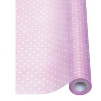Flower Wrap Non Woven Fabric Roll Dots Wrapping Paper Color Width 65 Cm X 20 M Roll