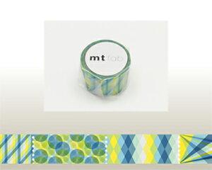 【メール便対応】カモ井 マスキングテープmt fab 穴空きテープ パターン MTDP1P01 20mm×3m