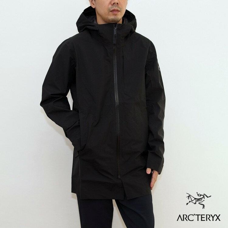 【国内正規品】ARC'TERYX (アークテリクス) Sawyer Coat (ソーヤ— コート) Mens Black ブラック