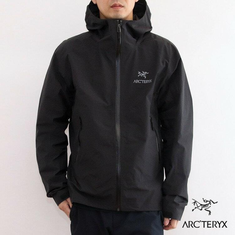 【国内正規品】ARC'TERYX(アークテリクス) Zeta SL Jacket(ゼータSLジャケット) Mens [Black]【バードエイド対象】