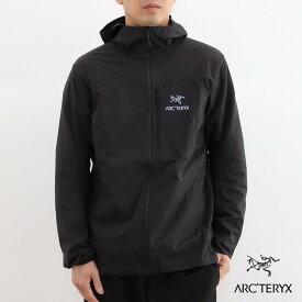【国内正規品】ARC'TERYX(アークテリクス) Squamish Hoody(スコーミッシュフーディー) Mens Black 黒 ブラック
