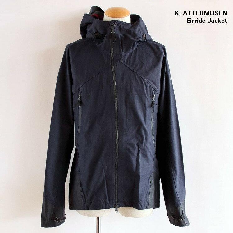 【国内正規品】KLATTERMUSEN (クレッタルムーセン) Einride Jacket (エイナリーダ ジャケット) M's Storm Blue ストームブルー