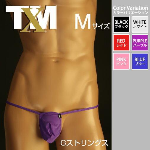 【TM collection】STRIKESKINフロントポーチ風 Gストリング メンズ Tバック 下着 パンツ アンダーウェア