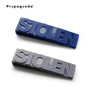 クリップ マネークリップ おしゃれ プロパガンダ PROPAGANDA STOLEN CLIP